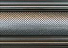 Serrande Roma: fabbrica serrande PVC, plastica, ferro, acciaio zincato a Roma, serrande forate